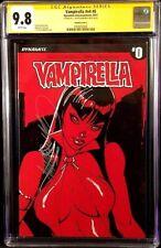 VAMPIRELLA #0 CGC SS 9.8 J SCOTT CAMPBELL 1:100 VARIANT BLOOD HORROR DYNAMITE