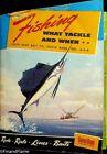 Vintage 1952 South Bend Catalog Rod Reel Lures Flies JEM131