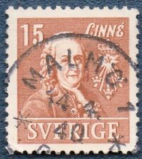 SWEDEN  1939  Michel 273B (B235) Good Used with 'MALMO' cds