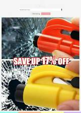 Glass Breaker Car Styling Life Saving Hammer Safety Emergency Rescue Tool