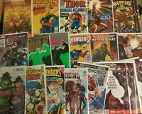MARVEL 10 COUNT COMIC LOT - INCLUDES #1'S, KEY'S, VARIANT'S & MORE!!