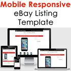 Template Ebay Listing Auction 2021 Html Design Responsive Professional Compliant