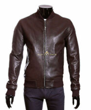 Leather Bomber, Harrington 80s Coats & Jackets for Men