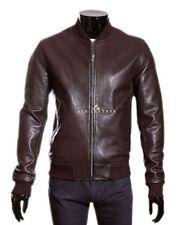 Waist Length Leather 80s Coats & Jackets for Men