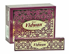 Tulasi Vidwan Premium Incense - Vanilla, Patchouli and herbs 25g Single Packet