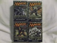 Fifth Dawn Theme Decks by Wizards of the Coast (2004, Game) 4 Decks. 0786934581