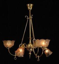 Large Victorian Antique Chandeliers Sconces Lighting Fixtures For Sale Ebay