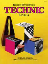 Bastien Piano Basics, Level 4, Technic By James Bastien  WP219