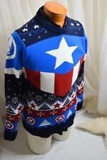 Captain America - Avengers thick Sweater men's M. NWOT