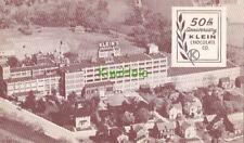 Postcard 50th Anniversary Klein Chocolate Co Elizabethtown Pa