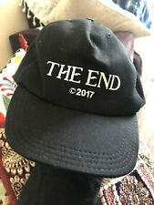 OFF-WHITE THE END BLACK HAT CAP VIRGIL ABLOH MADE IN ITALY