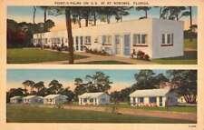Nokomis Florida Point O Palms Multiview Antique Postcard K70530