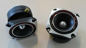 2 Ringradiator Hochtonhorn Hochtöner Tweeter Ringstrahler MCM Audio 53-1075 PAAR
