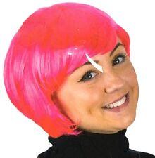 Pink Unisex Short Bob Wig Same Day Dispatch Sexy.Hair Fashion Fancy Dress UK