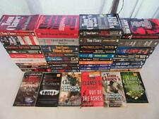 BIG Lot (42) TOM CLANCY War Military Books JACK RYAN SPLINTER CELL GHOST RECON