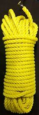 """ROPE HEAVY DUTY POLY 7/16"""" X 100 Ft STRONG Holds 3500lbs USA Made SAVE $$"""