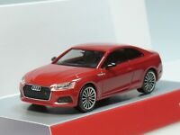 "Herpa Audi A5 Coupe ""Black Edition"", tangorot metallic - 038805 - 1:87"