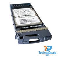 """NETAPP X412A-R6 600GB 15K 3.5"""" SAS HARD DRIVE/ W TRAY"""
