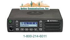 NEW MOTOROLA CM300d ANALOG - UHF 403-470 MHZ, 40 WATT, 99CH MOBILE TWO WAY RADIO