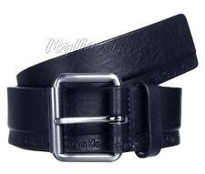 Cintura-Belt-Pемень uomo CALVIN KLEIN K50K502473 Arthur Roller Belt - blu
