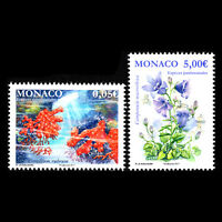Monaco 2017 - National Species Flowers Flora Marine Life - MNH