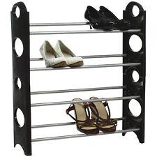 Rack / Range chaussures superposable PVC et métal  Etagère Support Rangement