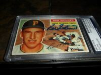 1956 Topps #297 BOB SKINNER Signed PSA/DNA Pittsburgh Pirates Autograph