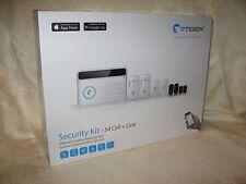 eTiger GSM and Landline Alarm System Security Kit - S4 Cell + Line. New.