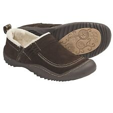 New Jambu Women's BAR HARBOR Suede Slip-On Chocolate US 6M, MSRP $99