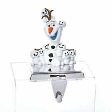 Disney Frozen OLAF Christmas Stocking Hanger with Retractable Hook by Kurt Adler