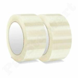 2 Pieces Self Adhesive Tape 3 Inch Packing Tape 60 Mtr Free Shpping Worldwide