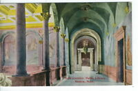 CG-062 MA, Boston, Main Corridor Public Library Divided Back Postcard