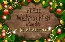 *Fußmatte Tanne&Kugeln*Deco*Türvorleger*Merry Christmas*Nikolaus*Weihnachten