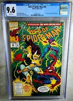 Web of Spider-Man #99 1st Ap Nightwatch Marvel 1993 CGC 9.6 NM+ WP Comic K0113