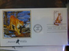 Nature First Day Cover North American Stamps