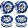 "4PCS 1.9"" Aluminum Beadlock Wheel Rims For 1/10 RC AXIAL SCX10  D90 TF2 CC01"