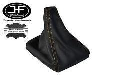 TAN STITCH LEATHER MANUAL GEAR GAITER SHIFT BOOT FITS VOLVO S70 V70 1996-2007
