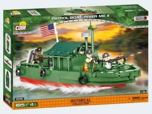 COBI 2238 - HISTORICAL COLLECTION - Vietnam War 1955/75 PATROL BOAT River Mk II