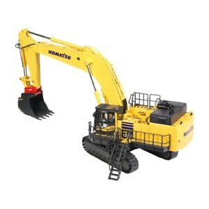 Komatsu PC1250-11 Excavator Quick Coupler - Yellow - NZG 1:50 Scale #9992 New!