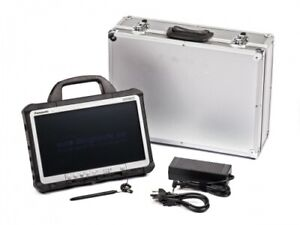 "Panasonic TOUGHBOOK CF-D1 Tablet 13,3"" 4GB RAM 250GB HDD Win7 A-Ware mit Koffer"