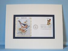 State Bird & Flower of Maryland - Oriole & Black-Eyed Susan & First Day Cover
