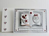 Diamond/Platinum 60th/70th Wedding Anniversary Card Wife/Husband/Mum & Dad etc