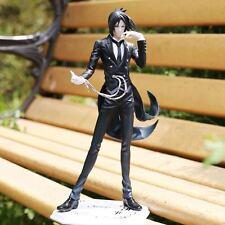 "Anime Black Butler Kuroshitsuji Book of Circus Sebastian Action Figure 8"""