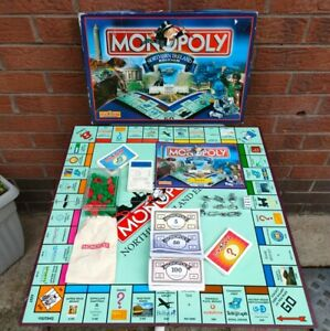 MONOPOLY NORTHERN IRELAND EDITION FAMILY BOARD GAME FULLY COMPLETE VGC