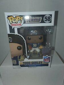 NFL Los Angeles Rams Funko POP! Sports Todd Gurley Vinyl Figure #58