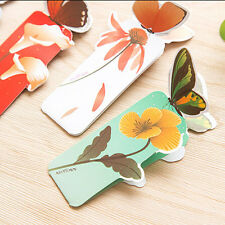 50pcs/Lot Bookmarks Fashion Butterfly Stationery Chirstmas Gift For Kid Student