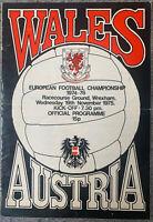 WALES V AUSTRIA , EUROPEAN FOOTBALL CHAMPIONSHIP 1975