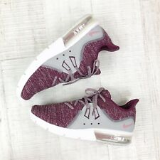 Nike Air Max Woman Sneaker Running Shoes New Woman Size 8 EUR Size 39 Bordeaux