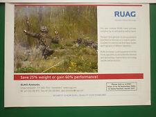8/2005 PUB RUAG AMMOTEC ARMEE SUISSE NEW MODULAR PEARL HAND GRENADE ORIGINAL AD
