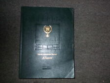 1991 1992 Cadillac ALLANTE Service Shop Repair Manual DEALERSHIP CADILLAC GM OEM